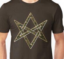 Unicursal hexagram, magic, ritual, spell, magick, symbol Unisex T-Shirt