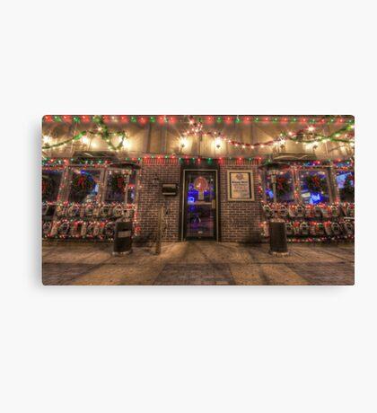 Happy Holidays from Bourbon Street Saloon Harrisburg Canvas Print