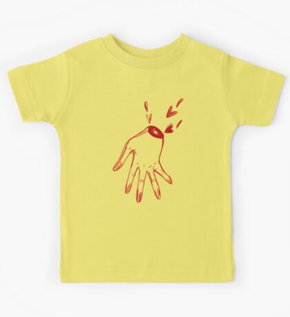 Hand Bleeding Hearts Kids Tee