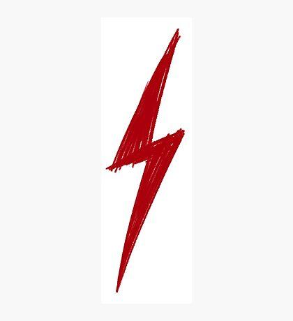 Lightning Sketch - Harry Potter / Flash Photographic Print