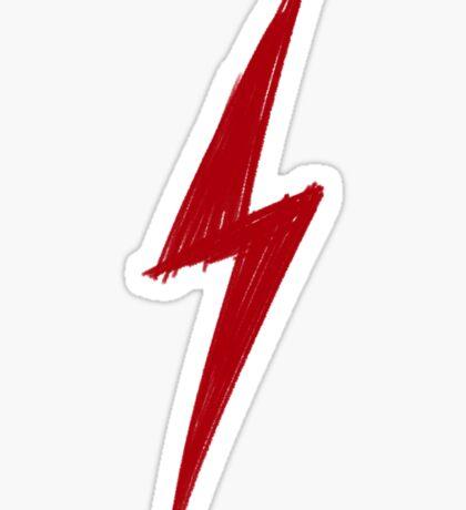Lightning Sketch - Harry Potter / Flash Sticker