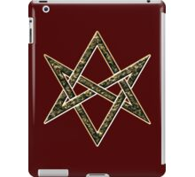 Unicursal hexagram, magic, ritual, spell, magick, symbol iPad Case/Skin
