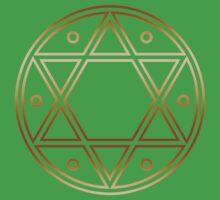 Hexagram, ✡ , Magic, Merkaba, David Star, Solomon Kids Clothes