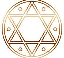 Hexagram, ✡ , Magic, Merkaba, David Star, Solomon by nitty-gritty