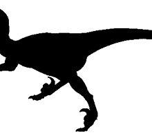 Velociraptor Silhouette by kwg2200