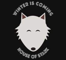 Winter is coming – House of Stark by movieshirt4you