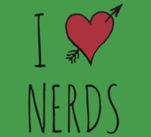 I Love Nerds by Rob Price