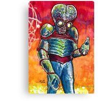 Metaluna Mutant  Canvas Print