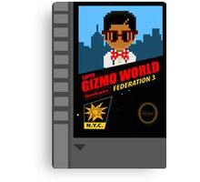 Super Gizmo World 1.5 FED3 Canvas Print
