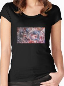 Portal to theory of new awakening Women's Fitted Scoop T-Shirt