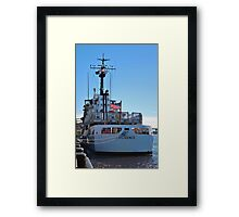 The Diligence At Homeport Framed Print