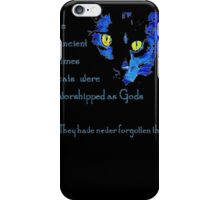 Cats Never Forget  iPhone Case/Skin