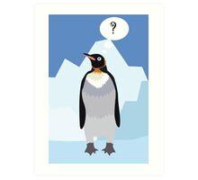 penguin Art Print