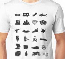 50 Years of James Bond Unisex T-Shirt