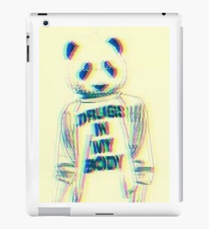 Drugs in my body iPad Case/Skin