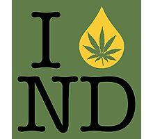 I Dab ND (North Dakota) Photographic Print