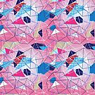 abstract pattern of geometric shapes by Tanor