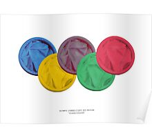 OLYMPICS SAFE SEX EDITION Poster