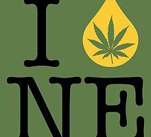 I Dab NE (Nebraska) by LaCaDesigns