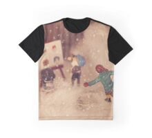 The snowstorm in Christmasland, Christmas 2016 Graphic T-Shirt