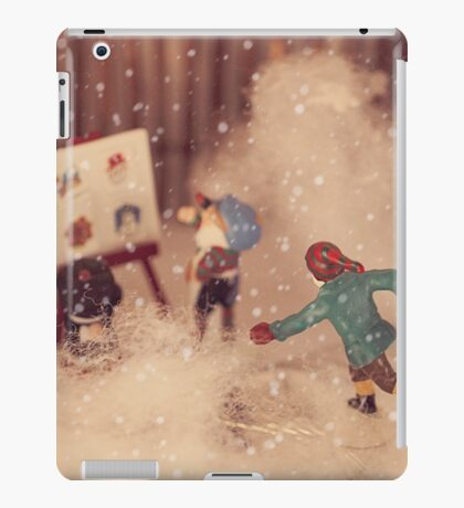 The snowstorm in Christmasland, Christmas 2016 iPad Case/Skin