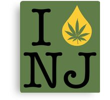 I Dab NJ (New Jersey) Canvas Print