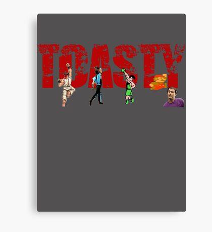 Toasty - Mortal Kombat Canvas Print