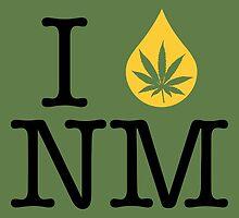 I Dab NM (New Mexico) by LaCaDesigns