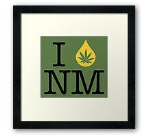 I Dab NM (New Mexico) Framed Print