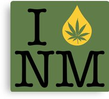 I Dab NM (New Mexico) Canvas Print