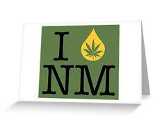 I Dab NM (New Mexico) Greeting Card