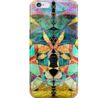 unusual abstract pattern  iPhone Case/Skin