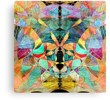 unusual abstract pattern  Canvas Print