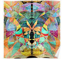 unusual abstract pattern  Poster