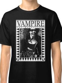 Retro Vampire: The Masquerade Classic T-Shirt