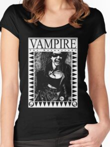 Retro Vampire: The Masquerade Women's Fitted Scoop T-Shirt