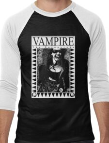 Retro Vampire: The Masquerade Men's Baseball ¾ T-Shirt