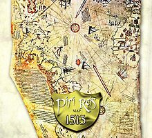 Piri Reis MAP by labelia