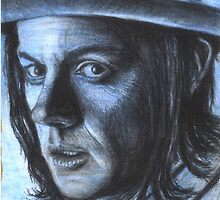 Jack White - Blue veins by murkyart