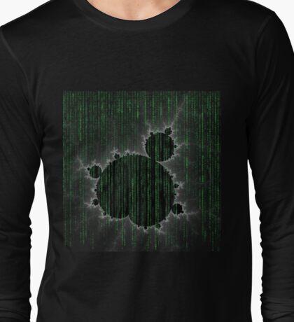 SciFi Fractal Long Sleeve T-Shirt