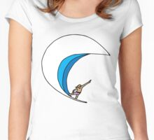 Round-house Cutback Women's Fitted Scoop T-Shirt