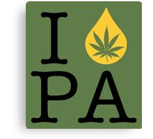 I Dab PA (Pennsylvania) Canvas Print