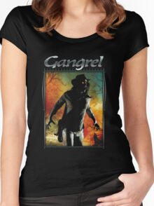 Masquerade Clan: Gangrel V20 Women's Fitted Scoop T-Shirt