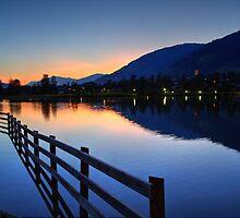 Uttendorfer See, Salzburg Austria by Mythos57