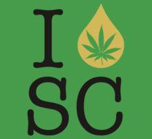 I Dab SC (South Carolina) by LaCaDesigns