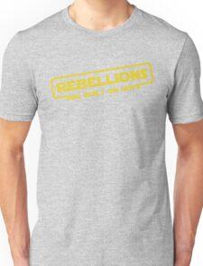 "Star Wars - ""Rebellions are built on hope!""  Unisex T-Shirt"