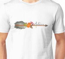 Hand Painted Watercolor Autumn Arrow Unisex T-Shirt