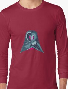 Abstract owl by TKR Art Long Sleeve T-Shirt