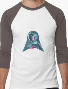 Abstract owl by TKR Art Men's Baseball ¾ T-Shirt