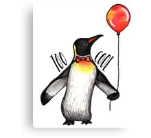 Too Cool Penguin  Canvas Print